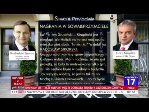 Radosław Sikorski O Schetynie Żulik