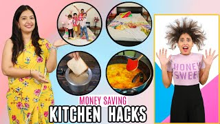 7 Time &amp Money Saving KITCHEN HACKS - You Must Know  CooKWithNisha