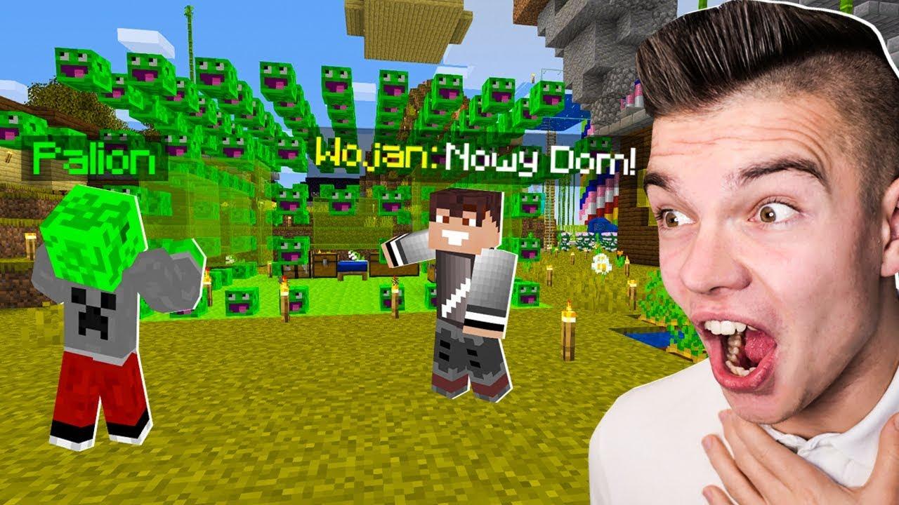 WOJAN ZROBIŁ MI NAJLEPSZĄ NIESPODZIANKĘ w Minecraft! (śmieszne)