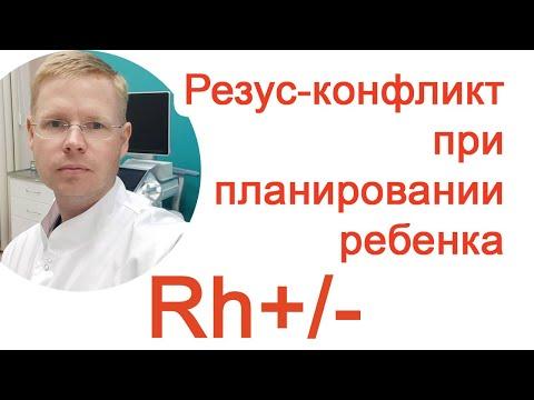 Резус-конфликт при планировании ребенка / Доктор Черепанов