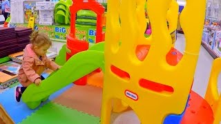 Fun Playground Store / Slides Toys and Play House /  Learn Colours with Toys /