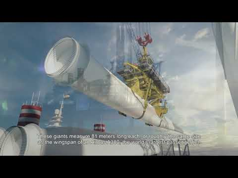 How it all comes together at sea: installing an offshore wind farm