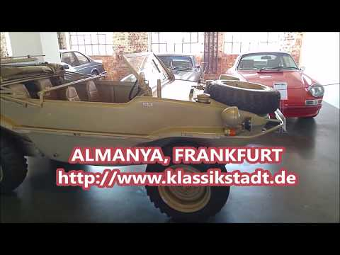 Klasik Amfibi Askeri Araç klassik stadt Frankfurt