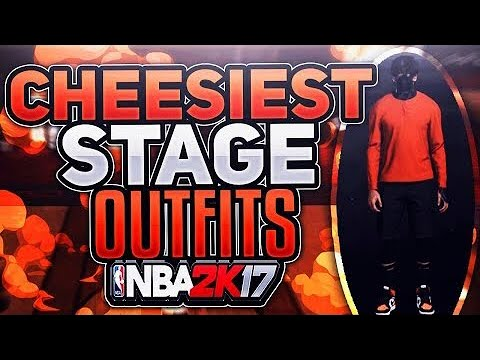 BEST DRIBBLE GOD OUTFITS ON NBA 2K17 MyPARK! HOW TO DRESS & LOOK LIKE A  CHEESER BEST OUTFITS 🔥 !