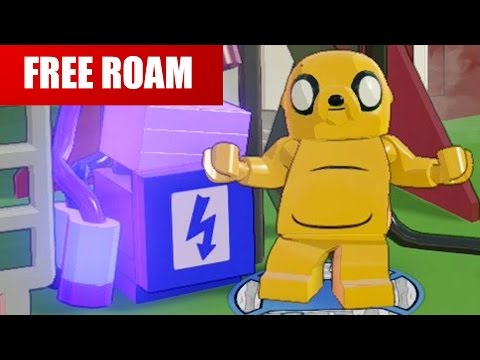 LEGO Dimensions - Jake the Dog Free Roam Gameplay Part 1 (Adventure Time)
