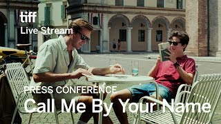 CALL ME BY YOUR NAME Press Conference | Festival 2017 thumbnail
