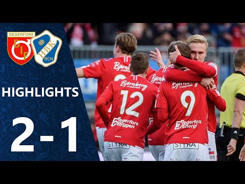 Degerfors Halmstad Goals And Highlights
