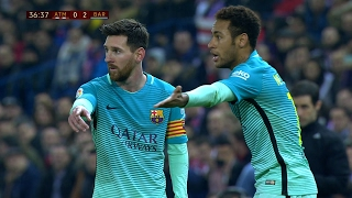 Lionel Messi vs Atletico Madrid (Away) 01/02/2017 HD 1080i by SH10
