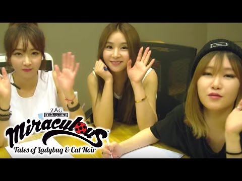 Miraculous Ladybug - Fiestar | Theme Song | Behind the Scenes