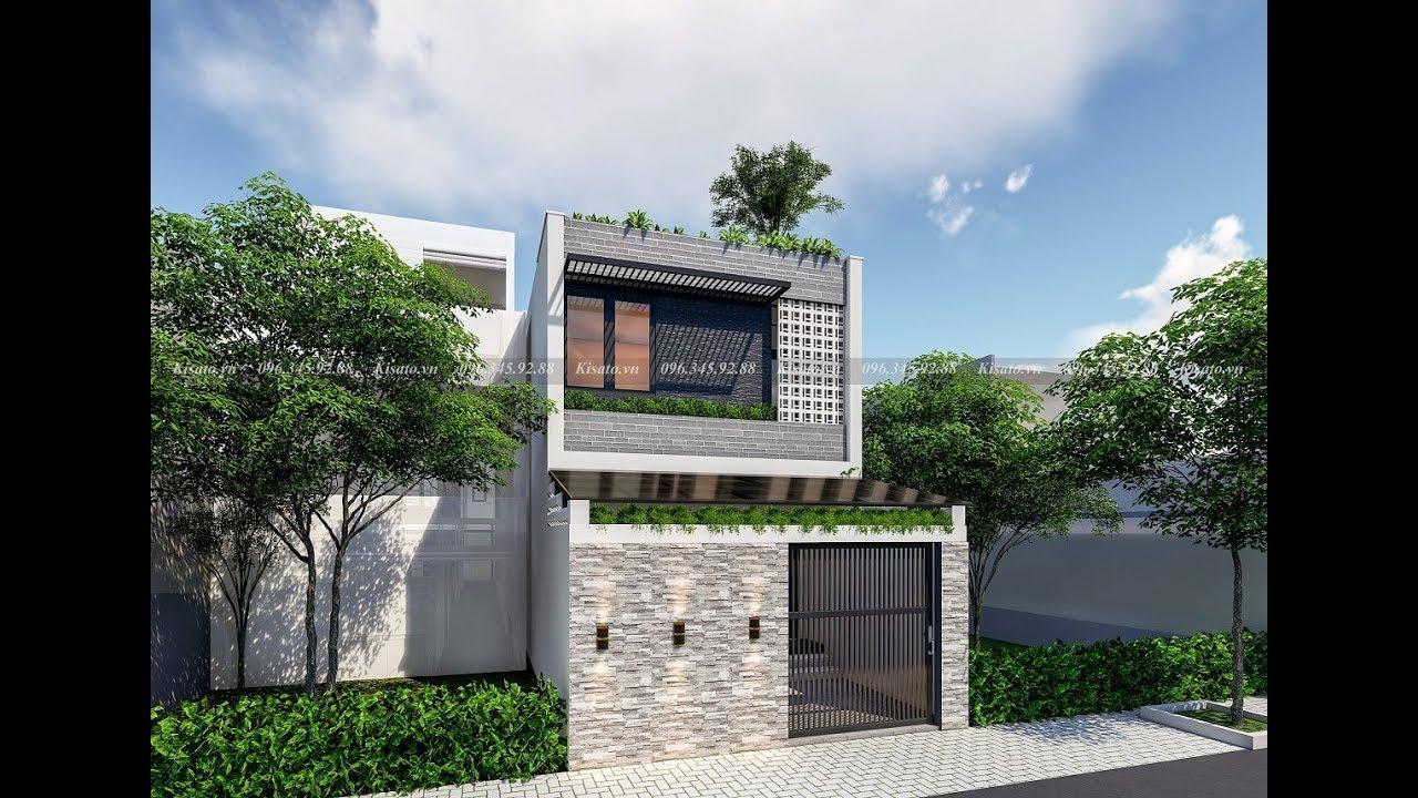 Mẫu Nhà Ống 2 Tầng Đẹp 50m2 Giá 500 Triệu Tại Nguyễn Trãi Hưng Yên