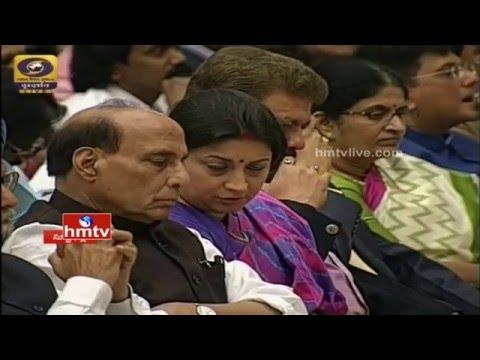 63rd National Padma Awards Presentation By President Pranab Mukherjee | Full Video | HMTV