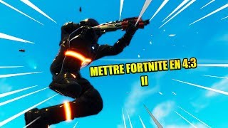 PUT FORTNITE IN 4:3 BEST QUALITY! FIX THE MOUSE BUG