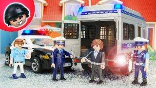 Überfall auf den Gefangenentransport! Playmobil Polizei Film - KARLCHEN KNACK #210