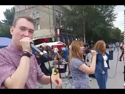 Битбоксер Влад Боровков и группа Sous в Новосибирске