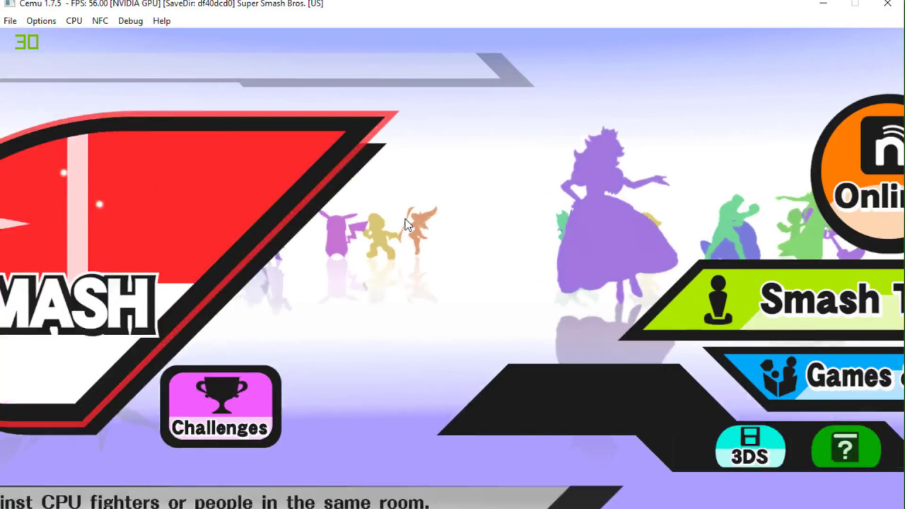 super smash bros 3ds free download