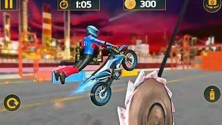 Tricky Bike Stunt Mania 2019 - Tricky bike stunt games