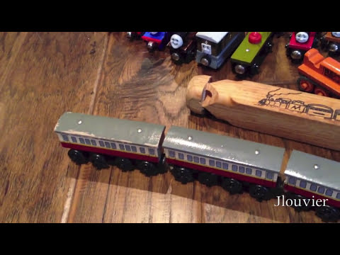 Thomas The Tank Engine & Friends - Swap Meet Treasures - The Search For Wooden Railway Toy Trains