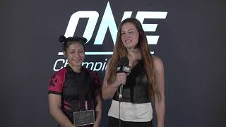 ONE MASTERS OF DESTINY   Post-Bout Interviews