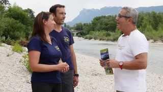 Gervanne Camping dans la Drôme