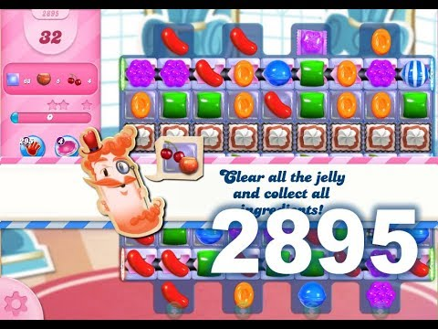 Candy Crush Saga Level 2895 (1 boosters used)