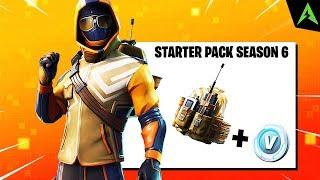 Noul *SUMMIT STRIKER* Starter Pack in Fortnite..