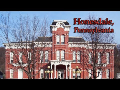 Top 10 reasons Honesdale, Pennsylvania is the BEST small town in America.