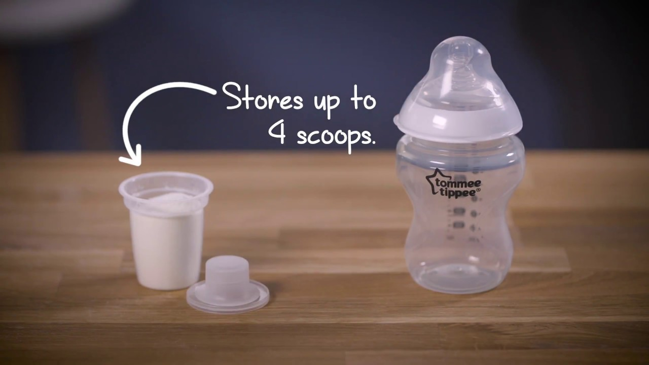 Tommee Tippee Milk Powder Dispensers Youtube