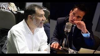 Carlos Loret entrevista a @fernandeznorona en su programa SIN ANESTESIA 88.1 FM