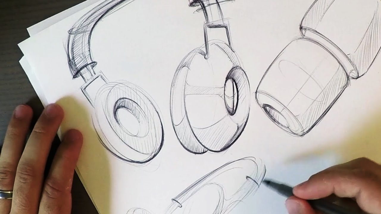 Headphones Sketches