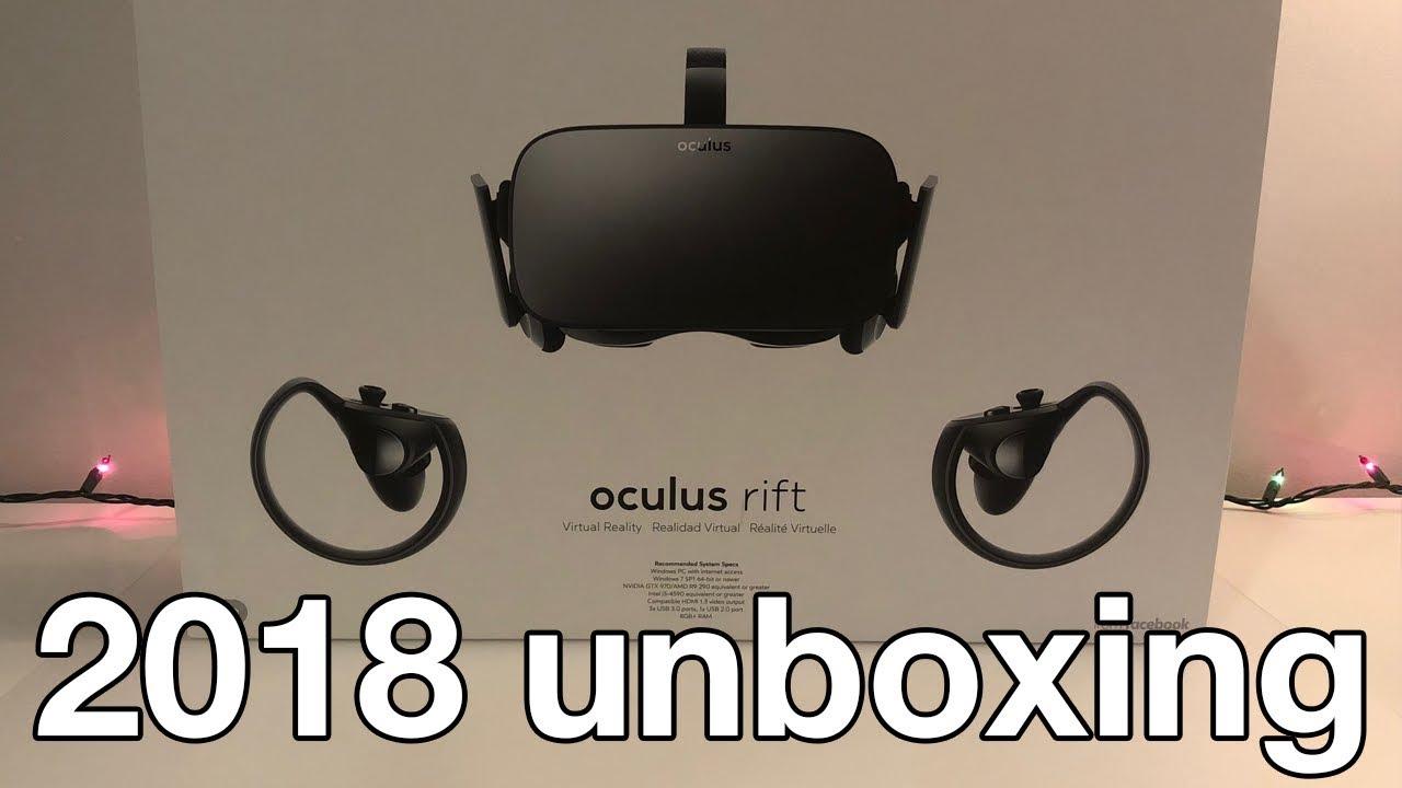 0e73fed2ce3a Oculus Rift Unboxing! (2018) - YouTube