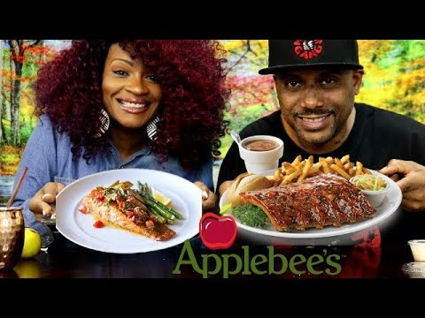 APPLEBEE'S MUKBANG! + LEFT AT THE ALTER!