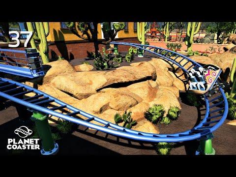 Planet Coaster | Adventure World 🌍 | Ep.37 Mexico - El Sombrero Spinning Coaster | Part.2