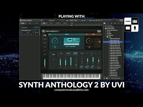 Synth Anthology 2 by UVI | Review – Computer Music Academy