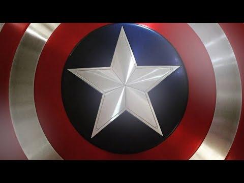 Procosplay Captain America Shield Review:  Foammander X Props #2
