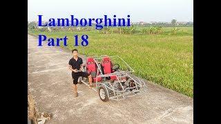 Homemade Lamborghini car part 18