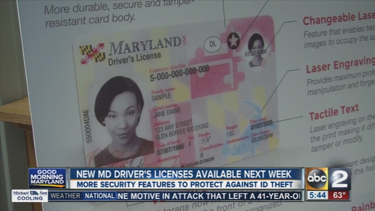 License Issued New Next Be Md Driver's - Youtube Week To