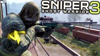 Sniper Ghost Warrior 3 Stealth Sniper Mission Gameplay