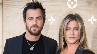 Justin Theroux and Jennifer Aniston Seemingly Reunite to Say Goodbye to Dog Dolly