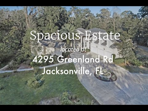 4295 Greenland Road Jacksonville, Florida 32258 - Call Janie at 904-525-1008