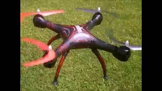 Wraith Spy Drone 1080p HD Video Camera RC Quadcopter Review(ANOTHER LOOK AT THE WRAITH AFTER MOTOR FIX FACEBOOK DRONE DAYS https://www.facebook.com/groups/680142485472890/, 2016-08-25T18:38:23.000Z)