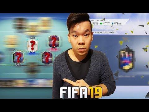FUT DRAFT MIT 4 FUTURE STAR SPIELERN + ICON!! 🔥🔥 FIFA19 RTG#110