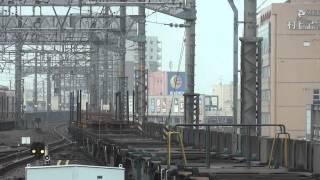 JR貨物 DD51-1801 試運転列車(試2750レ レール積載 チキ6000付き) 岐阜駅