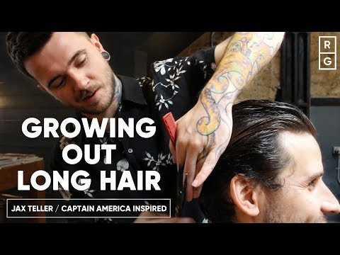 How To Grow Out Long Hair Like The Jax Teller Or Captain America