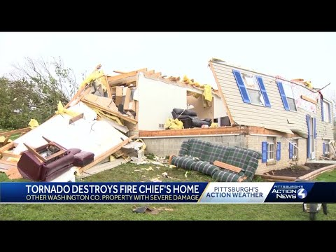 Several homes damaged, destroyed after tornadoes hit Washington County