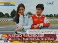 UB: Pia at Marlon, nag-celebrate ng Valentine's Day sa racetrack