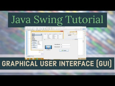 Java Swing GUI Programming Tutorial | Java Swing (Graphical User Interface) Tutorial