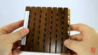 Woodsorption - Wooden Sound Absorbers