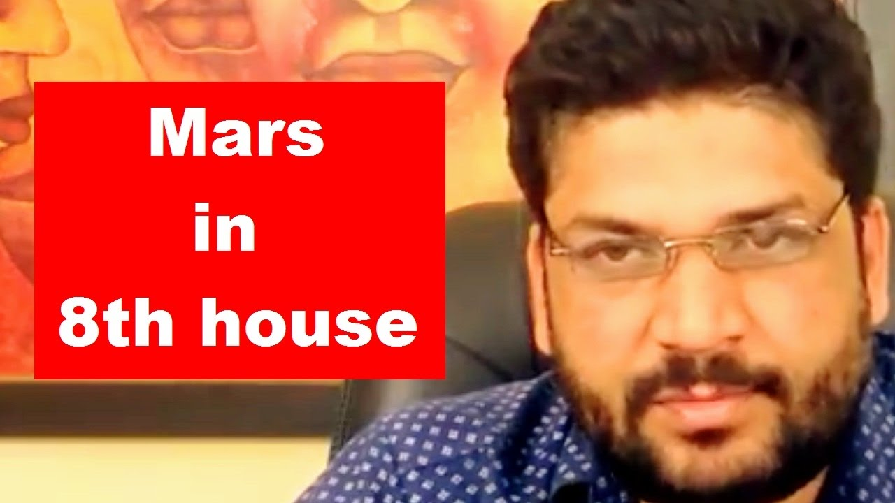 Mars in 8th house of birth chart