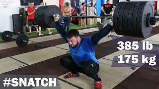 SNATCH  - 175kg / 385 lbs /A.TOROKHTIY