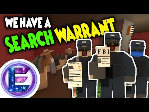 FBI Roleplay - We have a Search Warrant! - Taking Down Dealers - Unturned RP